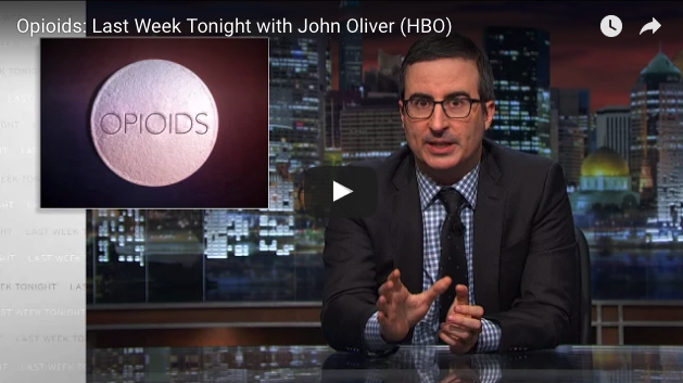 John Oliver Critisizes the Pharmaceutical Industry Over America's Overwhelming Opioid Epidemic